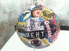 My friends's Christmas gifts so they'll remember me for the rest of their lives.. Especially during Christmas :)----- Broadway Ornament-YESYESYESYESYESYES. If anyone ever got this for me,i would cry tears of joy