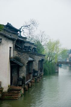 Early spring, Wu Town, Zhejiang, China  by shenxy on Flickr (cc)