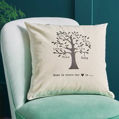 Are you interested in our personalised gift for mum? With our family tree cushion you need look no further.