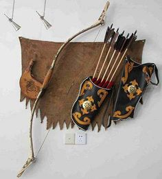 cool looking bow and quiver