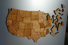 USA Interstate Highway Map Puzzle $92