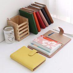 Genuine Leather Bankbook Passbook Case Holder Wallet Purse Organizer Pouch Gift #Jacc #Clutch