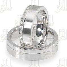 FEIL WFAu-126 Fehér Arany Karikagyűrű Garden Wedding, Wedding Rings, Engagement Rings, Jewelry, Bing Images, Engagement Ring, Enagement Rings, Jewlery, Jewerly