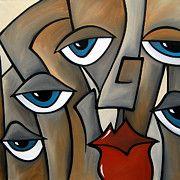 Acrylic Paintings - Some Lead by Tom Fedro - Fidostudio