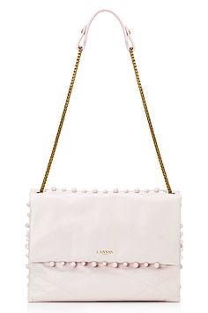 Lanvin - Women's Accessories - 2015 Spring-Summer Confessions Of A Shopaholic, Spring Summer 2015, Summer Looks, Lanvin, Handbag Accessories, Clutch Bag, Leather Bag, White Bags, Clothes For Women