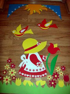 Ablakdísz Christmas Crafts For Kids To Make, Fall Crafts, School Projects, Projects To Try, Circle Crafts, School Decorations, Window Art, Silhouette Art, Applique Quilts