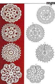 Crochet diagrams.. by HoBinh