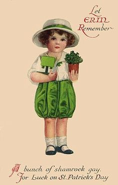 Get your hands on a customizable Vintage postcard from Zazzle. Find a large selection of sizes and shapes for your postcard needs! St Patricks Day Clipart, St Patricks Day Cards, Happy St Patricks Day, Saint Patricks, St Patricks Day Pictures, Vintage Greeting Cards, Vintage Postcards, Vintage Images, French Postcards