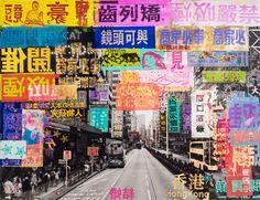 Taxi Stop Hong Kong - Sandra Rauch - Bilder, Fotografie, Foto Kunst online bei LUMAS