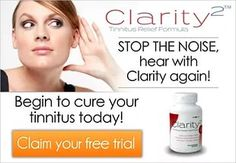 Users can signup for a 14-day trial of Clarity2, which works to cure Tinnitus (ringing in the ears). Free trial
