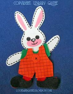 Bunny Gets Dressed from Loons and Quines @ Librarytime.  Goes with Bing : Get Dressed by Ted Dewan.