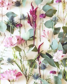 DIY Mini Flower Bouquet with Printable Paper Wrap / Lauren Saylor of A Fabulous Fete for Oh So Beautiful Paper