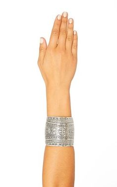 Kemi Silver Antique Cuff