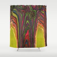 Shower Curtains by Jodi Bee | Society6  Potency of the Nectar (Secret Message) $68.