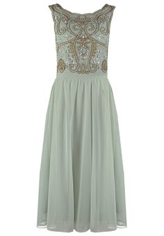 Frock and Frill ROSALIE Cocktail dress  Party dress frosty green £120.00 AT vintagedancer.com