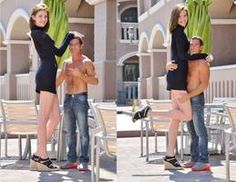 Tall porn actress with tiny man by lowerrider Tall Girl Short Guy, Tall Guys, Short Girls, Kendall Jenner Tall, Tall Women Fashion, Kate Middleton Outfits, Tall People, Gorgeous Women, Poses