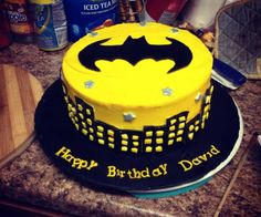 Batman Cake I Want It For My Birthday Cakes Superhero