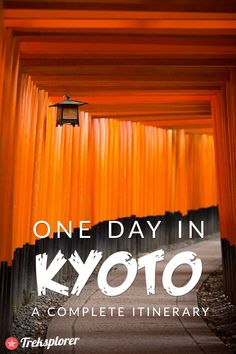 Only got one day in Kyoto, Japan? Visit Kyoto on a time-crunch with this complete 1-day Kyoto itinerary!