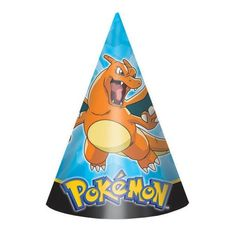 Pokemon Pikachu and Friends Hats [8 Per Pack]