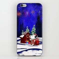 Santa Clause at the DOG world  IPHONE & IPOD CASE #iphone #Case #CellPhone #hardcase #cover #santa #santaclaus #christmas #blackfriday #mickeymouse #donaldduck #videogames #cat #mouse #mickeymouseclub #dog #snoopydog