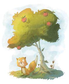 Fox painting Doreen M. Marts #Fox