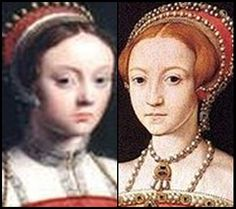 Mary was 17 years old when Elizabeth was born King Henry demanded that she gave up her title of the Princess of Wales and was to be known as the Lady Mary - she was declared illegitimate. When she was ordered to pay respect to the new baby she burst into tears and replied that she knew of no Princess of England but herself. To add insult to injury she was ordered to leave her mother and move to the household at Hatfield, in a serving role to her half-sister.