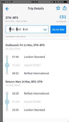 Flights return £51