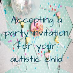 I feel like sometimes we have unrealistic expectations of ourselves as parents (all day everyday) and of our kids. We were invited to a birthday party by a friend that goes to ABA with Liam. High Functioning Autism, Liam James, Autistic Children, Our Kids, Brittany, Party Invitations, Helpful Hints, Birthday Parties, Parenting