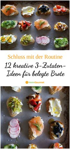 12 kreative für belegte Brote No longer in the mood for Nutella and salami? No problem! We have for you 12 fixed, but super delicious bread combinations in the bag, so you get out of the gray routine of everyday life! Salami Recipes, Chicken Sandwich Recipes, Nutella Recipes, Vegan Recipes, Turkey Sandwiches, Salami Sandwich, Cheesecake, Party Finger Foods, Decoration Table