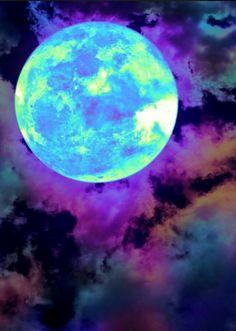 Full moon, from Iryna