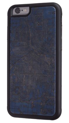 Minneapolis Streetcar Map - Paper Case for iPhone 7 & 7 Plus