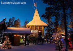 Почта Санта Клауса в Рованиеми в Финляндии