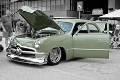 Good Guys 05-17-15 103 1950 Ford Sedan Olive Green   Flickr - Photo Sharing!