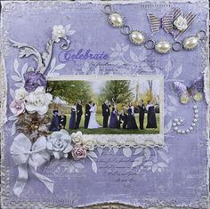 "Really Reasonable Ribbon's Ramblings!: ""Celebrate"" layout by Tracey"