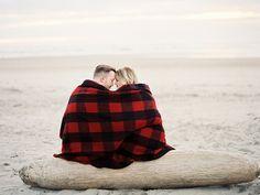 Beach engagement shoot by Erich McVey