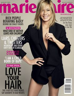 Marie Claire South Africa, August 2011 – Jennifer Aniston