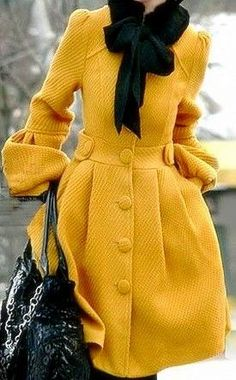 I need this yellow coat in my life! #lbloggers #cbloggers #fbloggers