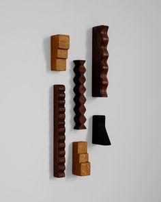 Dream Furniture, Furniture Ideas, Modern Crafts, Frederic, Furniture Hardware, Shape And Form, Interior Accessories, Interior Design Inspiration, Wood Art
