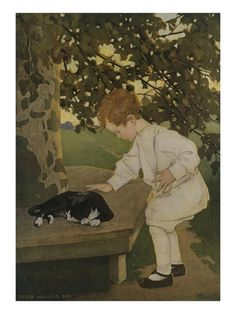 The Senses: Touch Giclee Print by Jessie Willcox Smith