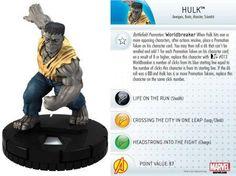 Hulk #002 Marvel 10th Anniversary Heroclix Singles