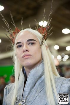 Thranduil from The Hobbit cosplay at Salt Lake Comic Con 2015