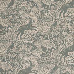 Harvest Hare fabric