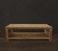 Reclaimed Wood Coffee Table by AtlasWoodCo on Etsy.  Made like this, but with 48 X 48 X 20 dimensions