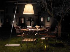 The most creative outdoor patio lighting ideas that everyone wants to use for light up their backyard. Best landscape lighting ideas on Architectures Ideas. Outdoor Floor Lamps, Outdoor Light Fixtures, Outdoor Flooring, Patio Lighting, Exterior Lighting, Lighting Ideas, Lighting Design, Indoor Outdoor, Cheap Lighting