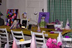 Rapunzel Party- activity table
