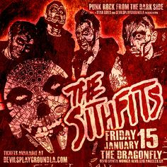 Punk Rock from the Dark Side!!! Star Girls and DevilsPlaygroundLA presents the Return of Intergalactic Horror Business, The Sithfits performing with Star Girls Burlesque! Friday January 15th at the Dragonfly in Hollywood, CA. Advance ticket sales at: devilsplaygroundLA.com #Sithfits #SithfitsTheBand #TheSithfits #SithfitsFiendClub #IntergalacticHorrorBusiness #PunkRock #DarkSide #StarGirls #Burlesque #StripTease #CourtneyCuz #JimmyPsycho #mancinasART #MillenniumFiendSkull #DevilsPlaygroundLA