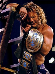 WWE Intercontinental Champion Chris Jericho. The real CHAMP!