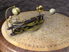 Youtube video of Orrery animation. (link to other orrery videos.)