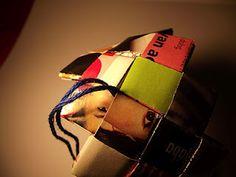 Magazine Bracelets [with tutorial]-img heavy - JEWELRY AND TRINKETS