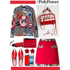 Red Power Outfit